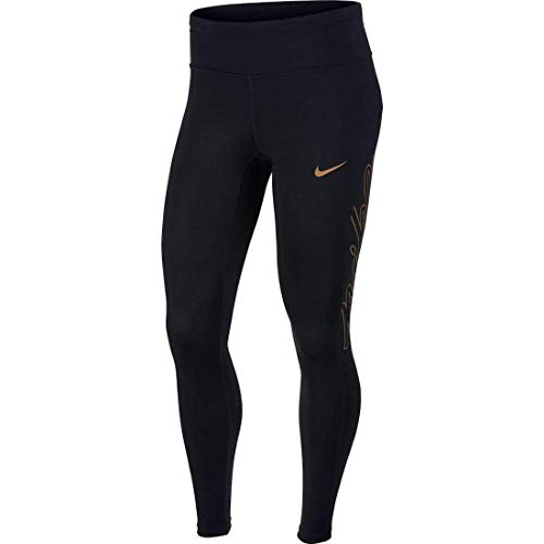 Nike Women's Sprinter Tight FL Women's Running Leggings (Medium, Black) ()