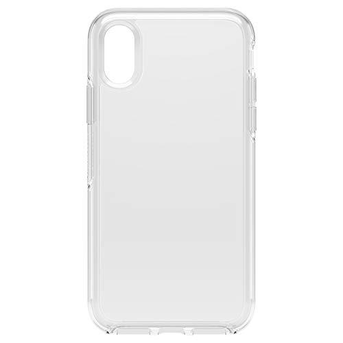 Otterbox Symmetry Clear - Funda Anti caídas Fina y Elegante para iPhone XS, Transparente