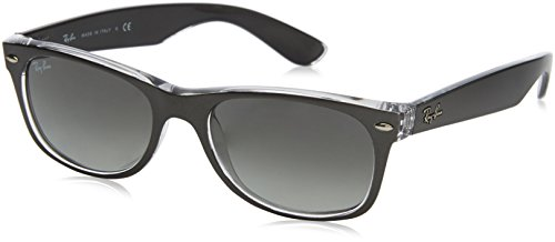 Ray-Ban New Wayfarer Classic, Gunmetal/Green - Sunglasses 2014 New Fashion