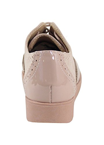 Style Richelieu By Shoes Femme Champagne Chaussure FZTavwp