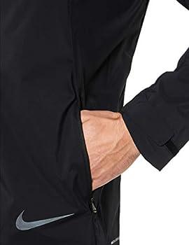 Nike Australia Men's Zonal AeroShield Running Jacket, Black
