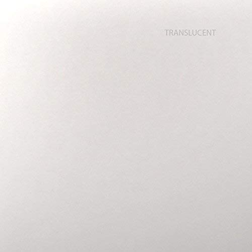 Clearfold Clear Translucent (Frosted) 8.5'' X 11'' 48 Lb cover Stock Paper- 20 Sheets Per Package