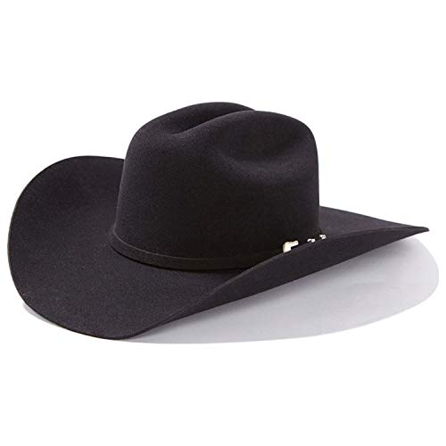 Stetson Men's 3X Oakridge Wool Cowboy Hat Black
