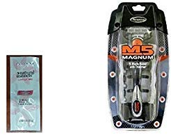 M5 Magnum 5 Razor with Trimmer, 2 Refill Blades and Travel Case with...