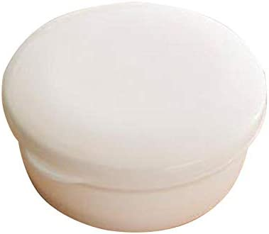 Keephic Porte-Savon avec Couvercle et Support /Étanche Portable Plastique Voyage Rond Organiseur de Savon Bo/îte Soap Dish pour la Maison Cuisine Salle de Bains Rose