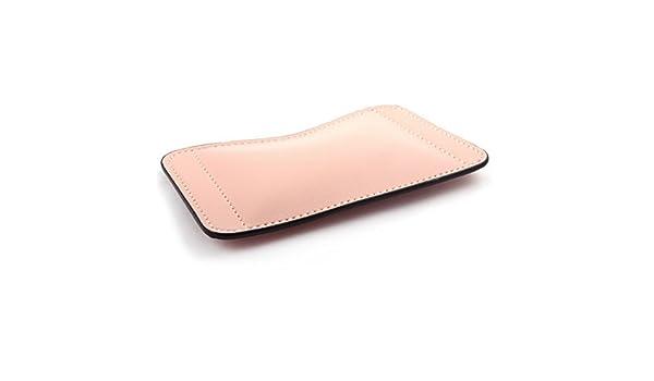 Amazon.com: eDealMax PU Soporte Para portátiles de piel ratones de ordenador amortiguador del cojín de ratón del resto de muñeca Tan: Electronics