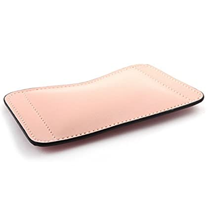 eDealMax PU Soporte Para portátiles de piel ratones de ordenador amortiguador del cojín de ratón del