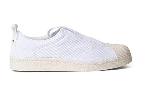 Adidas Kvinner Super Bw35 Slip-on W Hvite Sko Hvit Off White Størrelse 9,