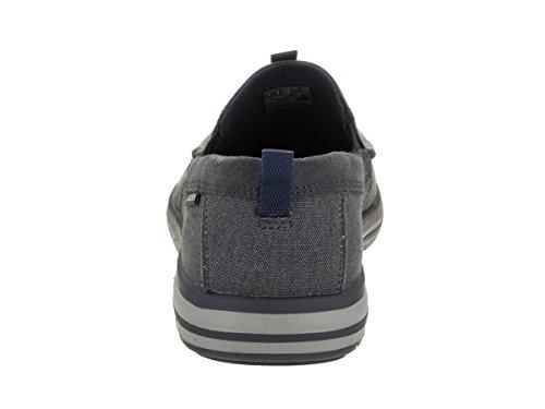 Skechers Mens Noven - Caspen Casual Shoe Navy