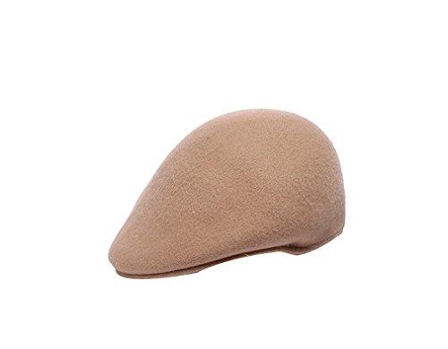 Mode Chapeau Béret Pour Casquette Feutre Hiver amp; Automne En Laine Chameau Elégant Fille Chaud Bonnet Femme Acvip RTwnFqdxR