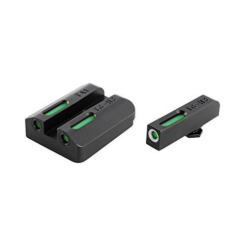 TRUGLO TFX Tritium and Fiber-Optic Xtreme Handgun Sights for Taurus Millenium G2, 709 Slim, 740 (Brite Xtreme Sight)