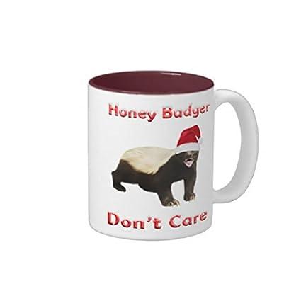 Amazoncom Novelty Honey Badger Coffee Mug Gift For Women Birthday