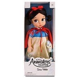- Disney Princess Animators' Collection Toddler Doll 16'' H - Snow White with Plush Friend Bluebird