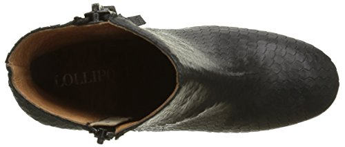 Lollipops Femme black Yake Noir Bottes Heel Boots Chelsea vWTxUqvn