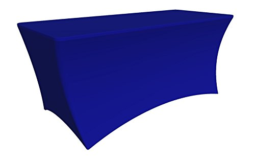 Tablecloth Cover, 8 ft white,Table Cloth Skirts, Rectangu...
