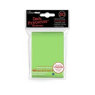Lime Green Ultra Pro Standard Deck Predector (Yellow)