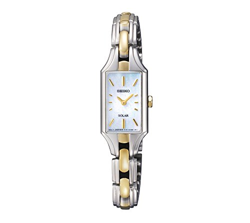 Seiko Women's Two-Tone Dress Solar Classic Watch
