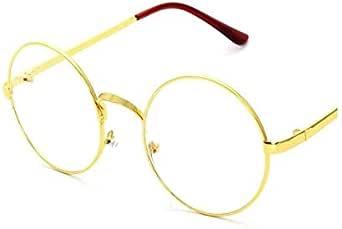 Fashion Retro Clear Mirror Gold Glasses Frame Unisex summer Glasses