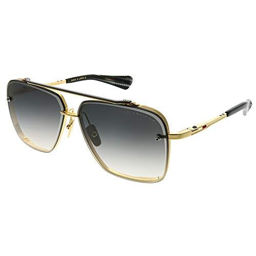 Dita - MACH-SIX, Geometric Titanium/Acetate Men (Dita Sunglasses)