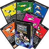 Game Core Book - Stack 52 Bodyweight Exercise Cards: Strength Workout Playing Card Game. Designed by a Military Fitness Expert. Video Instructions Included. No Equipment Needed. Burn Fat and Build Muscle at Home.