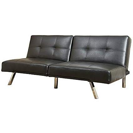 Amazon.com: Hebel Finley Leather Convertible Sofa | Model SF ...