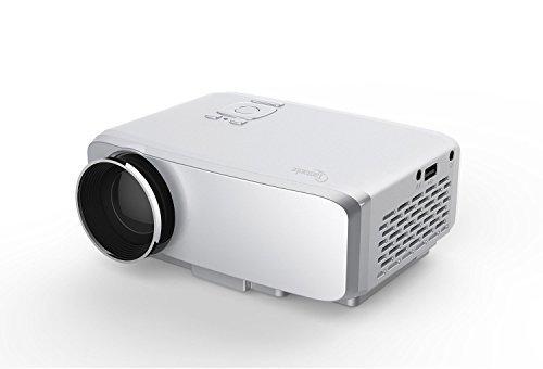 Taotaole Mini LED Projector 800x480 Multimedia Beamer Por...
