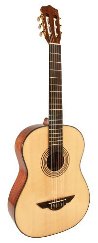 (H. Jimenez LG2 El Artista Nylon String Acoustic Guitar with Spruce Top and Padded Gig Bag - Natural)