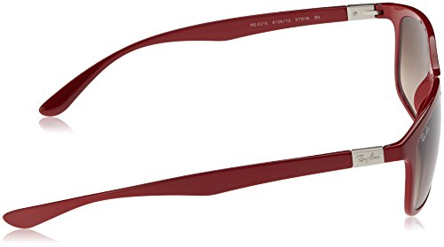 Hombre 612613 Gafas Rojo Gradientbrown 0RB4215 de RAYBAN sol Amaranth 57 UwTWqqxd