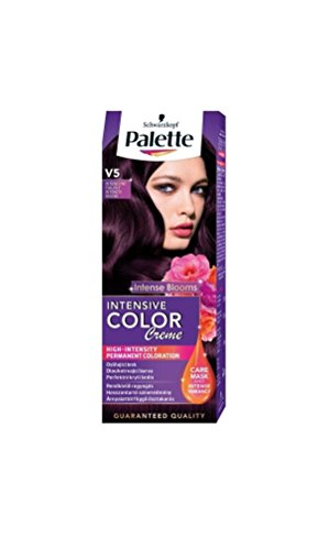 Palette Intensive Color Creme V5 Intense Violet Permanent Hair Color Hair Color Palette