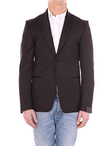 Black Men's Ad5058brt2341nero Dell'acqua Wool Blazer Alessandro x1wTzqYZ