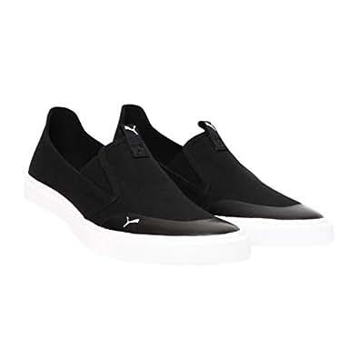 PUMA Men's Lazy Knit Slip On IDP Black White Sneakers-11 UK/India (46 EU) (4060979673267)