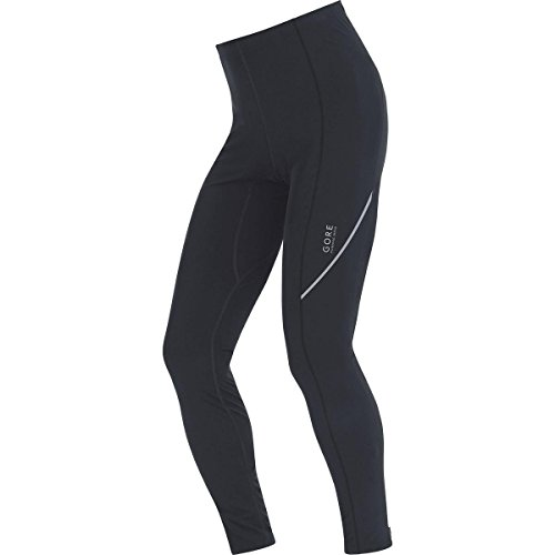 GORE RUNNING WEAR Herren Warme Enganliegende Thermo-Laufhose, GORE Selected Fabrics, ESSENTIAL Thermo Tights, Größe L, Schwarz, TESSEZ