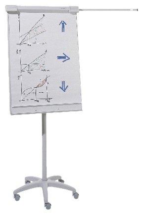 BASIC FLIPCHART FLIP-CHART DE LUXE MOBIL /> MIT 5 ROLLEN