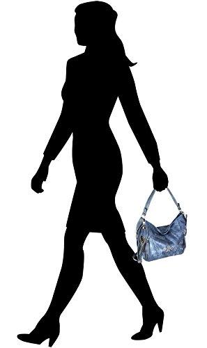 "Handbag Jennifer Jones Blue "" NEW """