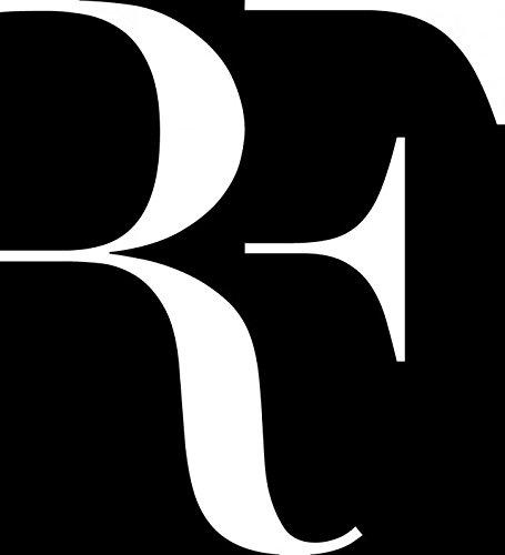 Roger federer trainers4me angdest roger federer rf tennis legend white set of 2 premium waterproof vinyl decal stickers for laptop phone accessory helmet car window bumper mug voltagebd Choice Image