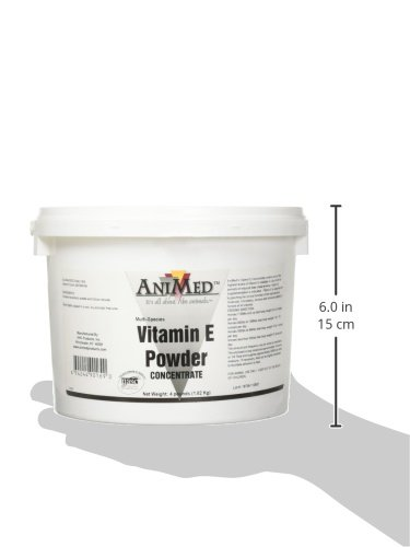 AniMed Vitamin E Concentrate Supplement for Horses, 4-Pound by AniMed (Image #5)