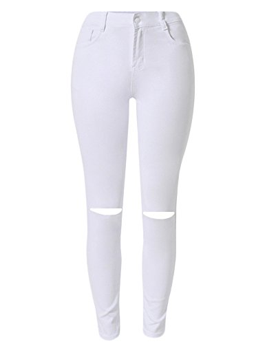 Guoji Womens Skinny Jeans Stretch