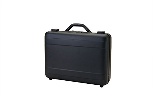 T.Z. Case International T.z Molded Aluminum Attache Case 18 X 13 X 5 in, Black by T.Z. Case International