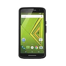 Otterbox Motorola Moto X Play Commuter Case, Black/Black-Retail Packaging