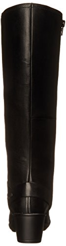 Ondas Clarks Malia Botas de montar Black Leather