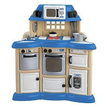 025217119000 - American Plastic Toy Homestyle Kitchen -  Colors May Vary carousel main 0