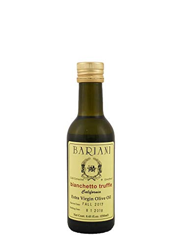 (Bariani White Truffle Infused Extra Virgin Olive Oil 8.45 ounce bottle)
