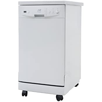 Good SPT SD 9241W Energy Star Portable Dishwasher, 18 Inch, White