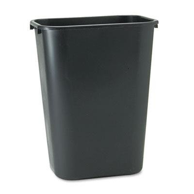RCP295700BK - Deskside Plastic Wastebasket