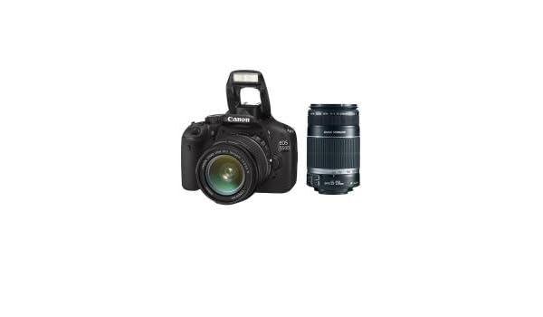 Canon EOS 550D - Cámara Réflex Digital 18.1 MP (Objetivo EF-S 18 ...