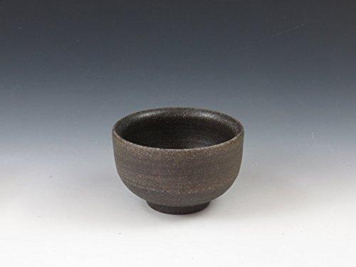 Japanese pottery sake cup (Suzu-Yaki) by Suzu-Yaki