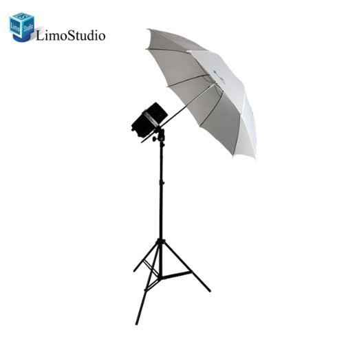 Single Flash Strobe (LimoStudio New Single 200 Watt Photo Studio Monolight Flash Strobe Umbrella Lighting Kit - 1 Studio Flash/Strobe, 1 Soft Umbrella, AGG334V2)