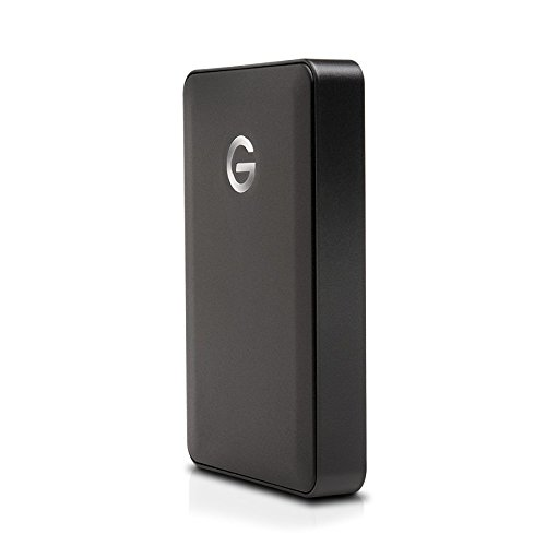 G-Drive Mobile 4TB Hard Drive (Black, USB Micro-B) by G-Technology