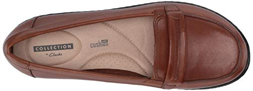 Loafer Leather M Lily Us Dark Clarks 100 Tan Ashland Women's 8tqBwYBa