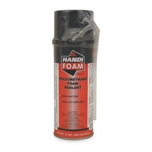 Handi-Foam Straw Foam Sealant, 12 oz, Black